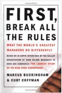 boek - First Break All The Rules