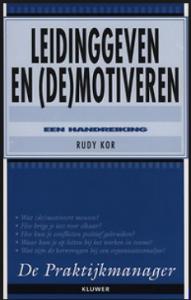 boek - Leidinggeven en demotiveren