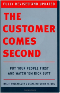 boek - The Customer Comes Second